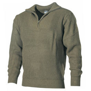 Mil-Tec Pullover Troyer oliv