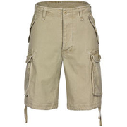 Paratrooper Shorts washed khaki