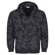 Sweatjacke mit Kapuze, russian-night-camo