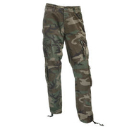 Pure Trash Cargohose Vintage Defense Comfort woodland