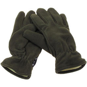 Fleece-Fingerhandschuhe, oliv