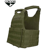 Condor Outdoor Operator Plate Carrier oliv