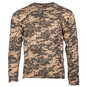 Mil-Tec Langarmshirt AT-digital