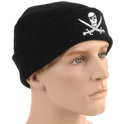 Mc Allister Watch Cap Totenkopf, schwarz