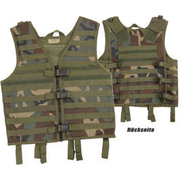 MFH Modular-Weste Molle light woodland