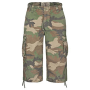 Mil-Tec Air Combat 3/4-Short, woodland