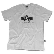 Alpha Basic T-Shirt, grau
