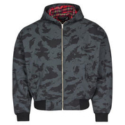 Harrington Jacke, russian-night-camo mit Kapuze