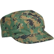 BDU Cap digital woodland