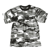 Kinder T-Shirt Tarnfarbe urban