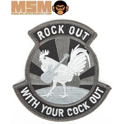 Mil-Spec Monkey Rock Out With Your Cock Out Patch Swat