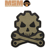 Mil-Spec Monkey Death Mechanic Patch Forest