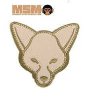 Mil-Spec Monkey Fox Head Patch Arid
