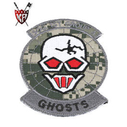 King Arms Ghosts SOG Team Patch ACU