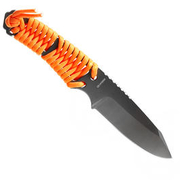 Bear Grylls Paracord Messer anthrazit orange