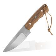 Haller Jagdmesser mit Wurzelholzgriff