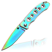 Einhandmesser Keltor rainbow