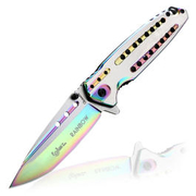 Einhandmesser Big rainbow