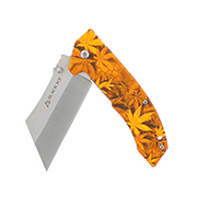Black Ice Einhandmesser THC orange