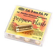 Wadie Pfefferpatronen Pepper Flash 9mm PAK 10 Stück
