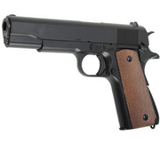 UHC M1911 A1 Heavy Weight Springer Softair 6mm BB schwarz