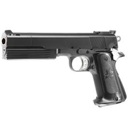HFC M1911 Combat Commander Gas NBB Softairpistole 6mm BB schwarz
