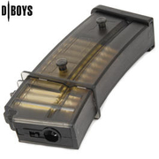 D'Boys G36 Magazin 45 Schuss - transparent