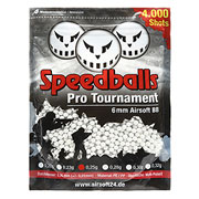 Speedballs Pro Tournament BBs 0.25g 4.000er Beutel weiss