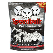 Speedballs Pro Tournament BBs 0.23g 4.000er Beutel weiss