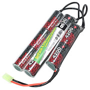 Airsoft24 AirPack Akku 9.6V 4200mAh NiMH Large Crane-Stock Type mit TAM Anschluss