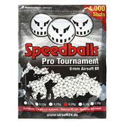 Speedballs Pro Tournament BBs 0.28g 4.000er Beutel weiss