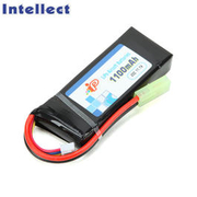 Intellect LiPo Akku 11,1V 1100mAh 20C Small-Type