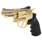 ASG Dan Wesson 2,5 Zoll 6mm BB CO2 Revolver Gold-Edition
