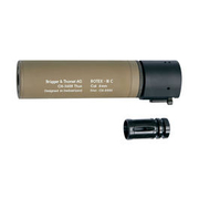 ASG B&T Rotex IIIA Compact Silencer 14mm- Tan