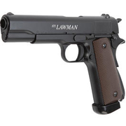 KJ Works STI Lawman Vollmetall CO2 Blowback 6mm BB schwarz
