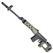 AIM Top SVD Vollmetall Gas-Blow-Back 6mm BB Desert Tan