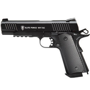 Elite Force 1911 TAC Vollmetall CO2 BlowBack 6mm BB schwarz