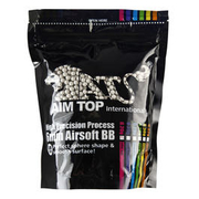 AIM Top Premium Grade Bio BBs 0,20g 5.000er Beutel light-grey