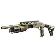 G&P MagPul M870 RAS Tactical Medium Shotgun Vollmetall Springer 6mm BB Multicam
