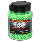 Speedballs Pro Tournament BBs 0,12g 5.000er Container Zombie Green