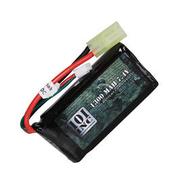 101 INC. LiPo Akku 7,4 V 1300 mAh 20 C Block-Type