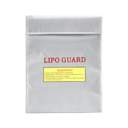 101 INC. LiPo Safe Bag 23x29cm silber