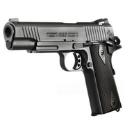 Cybergun Colt 1911 Rail Gun Vollmetall CO2 BlowBack 6mm BB schwarz