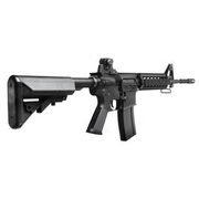 King Arms M4 RIS Sopmod Carbine Ultra Grade S-AEG 6mm BB schwarz