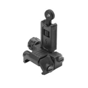 Ares AS-R-021 Nylonfiber Flip-Up Rear Sight schwarz f. 21mm Schienen