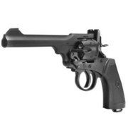 Gun Heaven Webley MK VI Revolver Vollmetall CO2 6mm BB schwarz