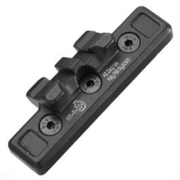 Ares KeyMod Aluminium 21mm 45 Grad Tactical Mount Octarms schwarz