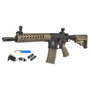 ASG Armalite M15A4 Light Tactical Carbine Sportline Komplettset S-AEG 6mm BB Tan