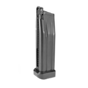 Wei-ETech Hi-Capa 3.8 / 4.3 / 5.1 / 5.2 / P14 Magazin 31 Schuss (CO2-Version) schwarz