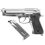 Wei-ETech M9 Vollmetall GBB 6mm BB Chrome-Finish Edition Airsoft